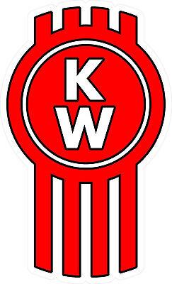"""#3343 (2) 2.0"""" Kenworth T800 T880 Badge Logo Vintage Decal ..."""