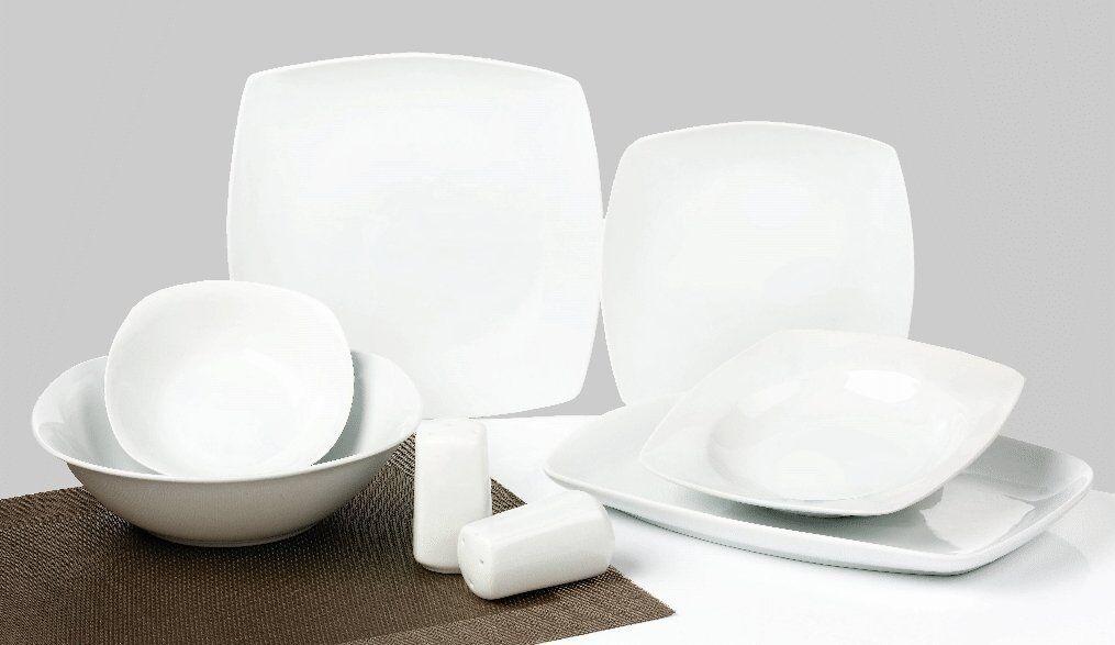 Porcelaine de Table Service essservice 28tlg Blanc Classic Elegance tk-800
