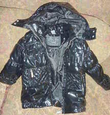 Zara gilrs For Nice Girls removable hood black quilt down jacket size 3-4 104cm