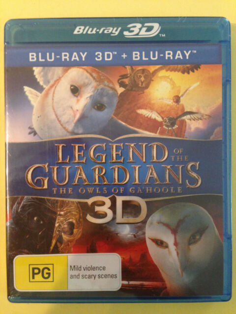 LEGEND OF THE GUARDIANS - THE OWLS OF GA'HOOLE (3D + BLU-RAY, 2-Disc Set)