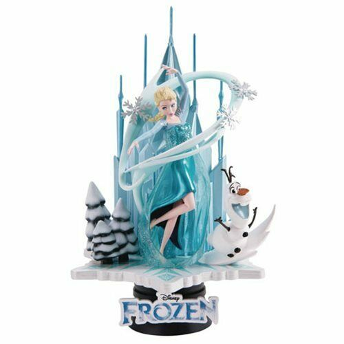 Previews Exclusive Frozen D-Select Series DS-005 6-Inch Statue Beast Kingdom