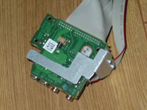 Dell Optiplex 745 SFF Audio USB Front I//O Control Panel UF888 CN-0UF888 w// Cable