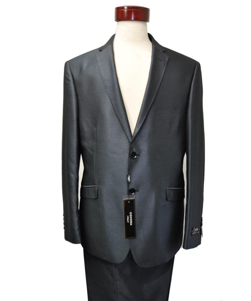 Men's Formal  dark blueeish - shining slim fit  Suits 34 S   28 )