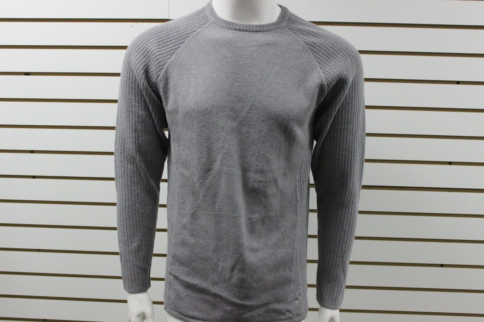 Men's Marmot Performance Wool Bryce Sweater Steel Heather 53230 New With Tag