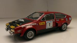 Kit Alfa Romeo Alfetta GTV 3000 V8 Gr.4  1 Rally Valli Piacentine 1975 Tron 1 43
