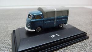 Schuco-1-87-VW-T1-Pritsche-Plane-452631500-Neu-OVP