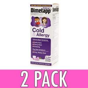 Children S Dimetapp Cold Allergy Liquid Grape 8oz 300312235191