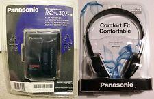 NEW SEALED - PANASONIC RQ-L307 PORTABLE CASSETTE RECORDER PLAYER + HEADPHONES
