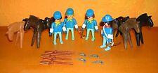 PLAYMOBIL cavalleria accumulare 4 3242 3244 3353 3354 1970er (2) Soldato