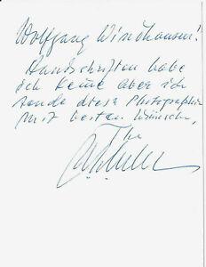 Ulf von Euler-Chelpin signiert Nobelpreis Medizin 1970 Photo handsigniert signed