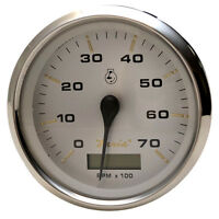 Faria Kronos 4 Tachometer W/hourmeter - 7,000 Rpm (gas - Outboard)