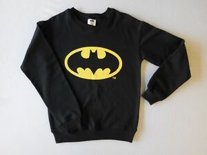 Batman Womens Juniors Crew Neck Sweatshirt Ebay