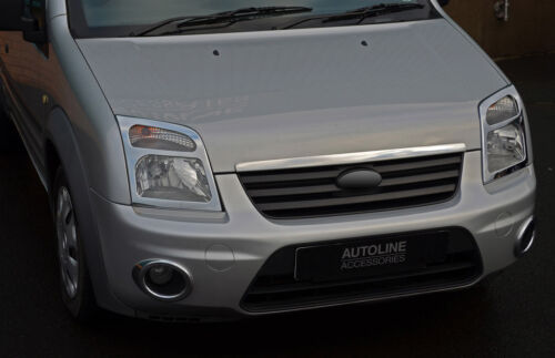 2002-12 Chrome Phare Avant Trim Covers to fit Ford Transit Connect
