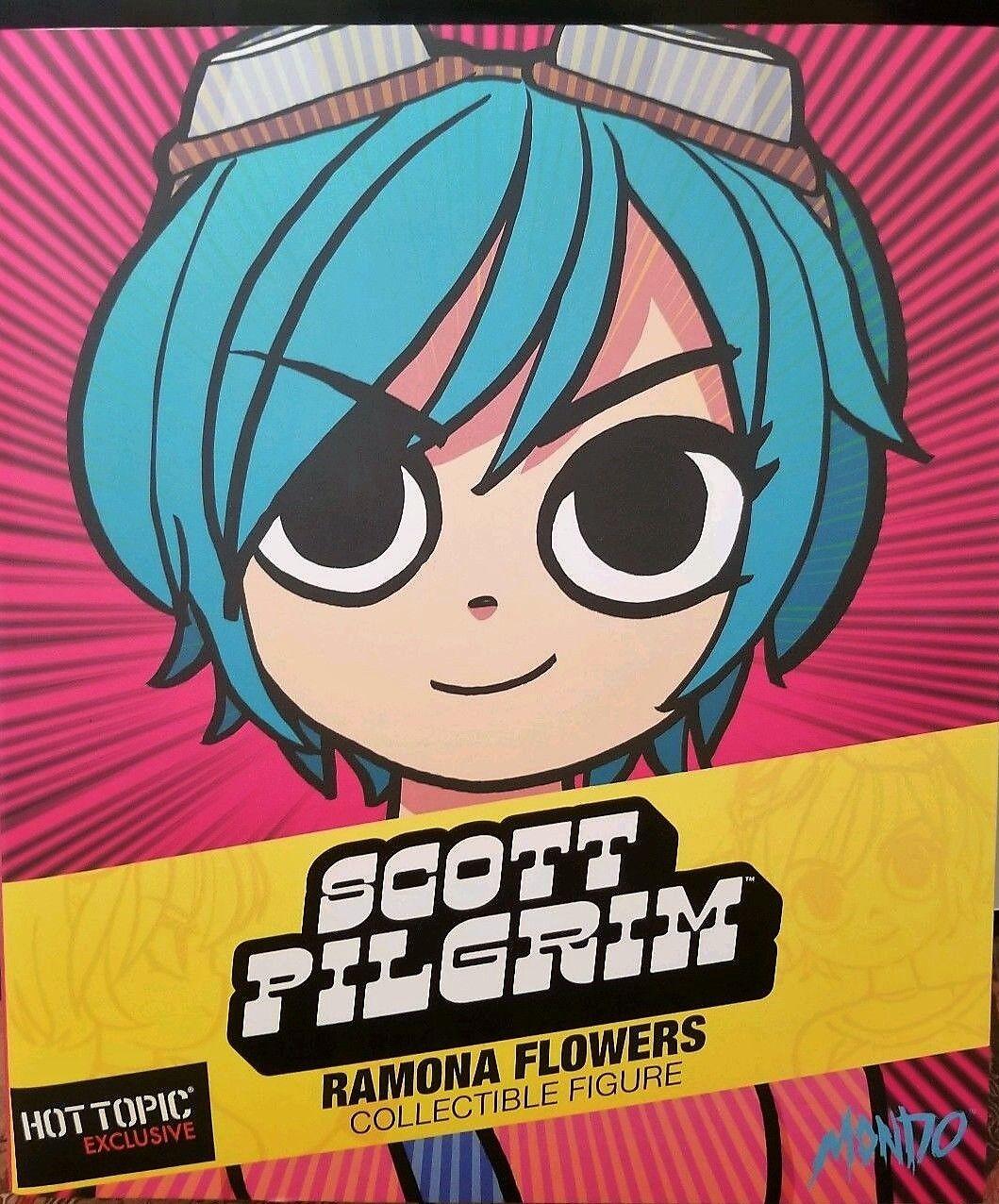 hasta un 70% de descuento Ramona Flores Mondo Hot Topic Exclusivo Exclusivo Exclusivo Figura Scott Pilgrim verde Negro blancoo  barato y de moda