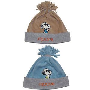 Kinder Wintermütze Snoopy Cool Junge Disney Kindermütze Bommelmütze Winter