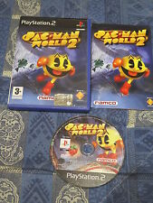 PS2 : PAC-MAN WORLD 2 - Completo, ITA ! Il mitico Pacman in 3D !