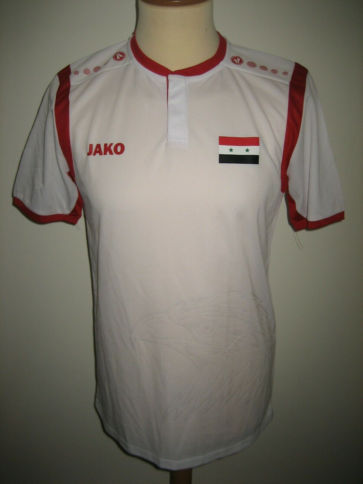 Syria rare away footbtutti shirt soccer jersey trikot Syrian maillot nuovo Diuominiione M
