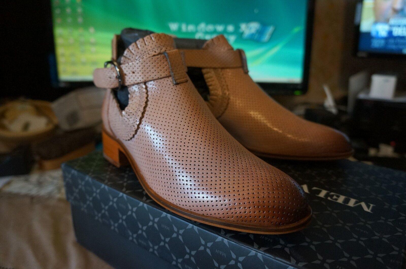Melvin & Hamilton Alina 7, botas Chelsea femme - Beige 35 EU -