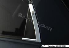 Chrome Window Sill C Pillar Garnish Molding Trim 2p For 2005 2010 Kia Sportage Fits 2007 Sportage