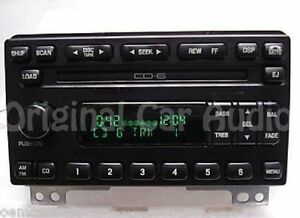Image Is Loading 03 04 Ford Expedition Radio 6 Cd Changer