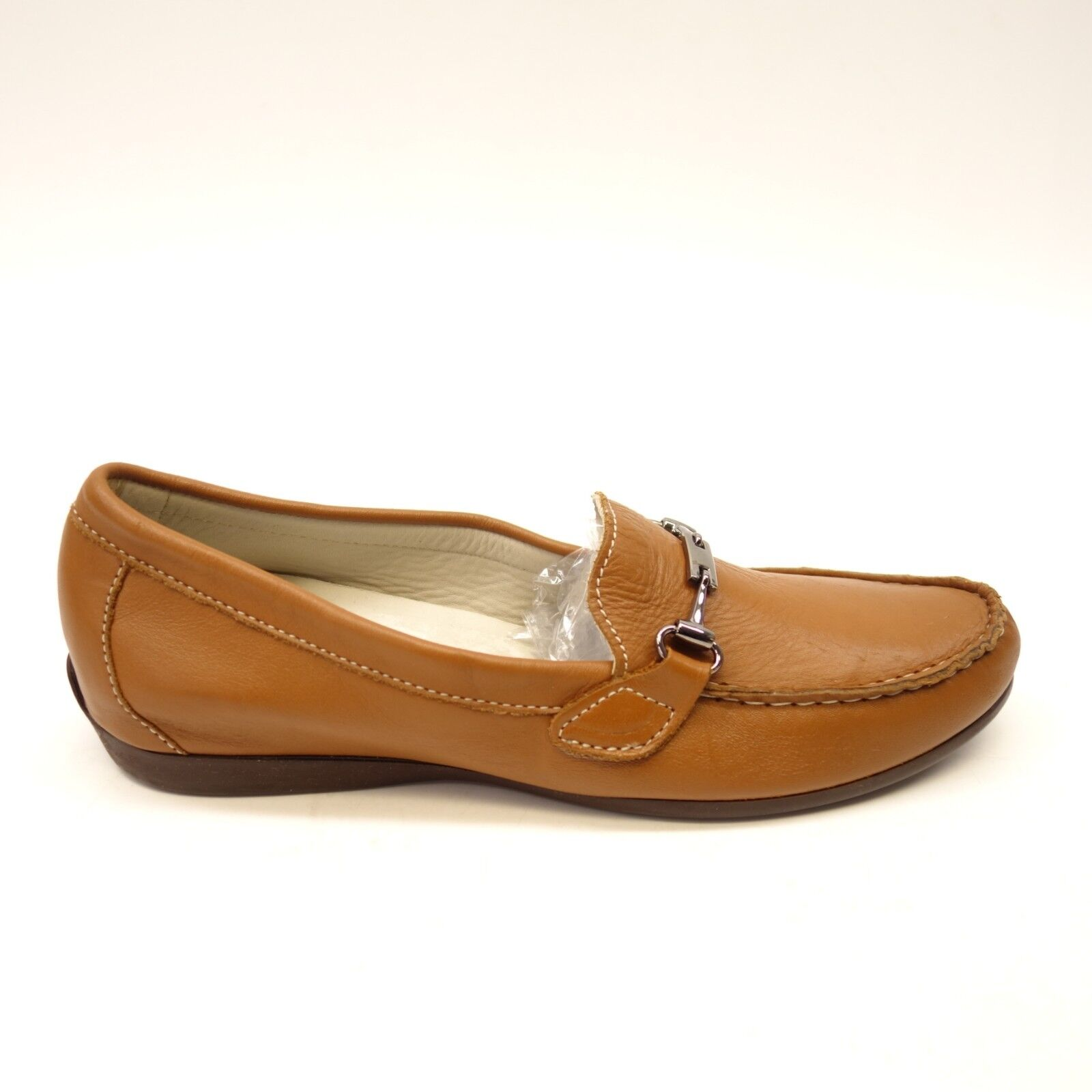 New Womens Munro Ramie 206446 Dark Brown Suede Penny Loafers shoes Sz 8 M