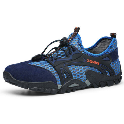 Size 6-12 Outdoor Mens Mesh Hiking Water Shoes Trekking Camping Barefoot Shoes