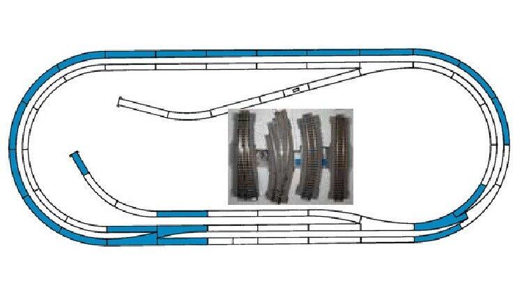 Roco Line con elevadores 42012 gleisset d aprox. 250 x 105cm nuevo embalaje original