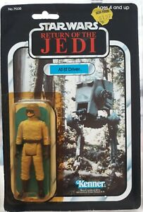 KENNER-VINTAGE-STAR-WARS-1983-ROTJ-AT-ST-DRIVER-MOC-77-BACK-OFFERLESS-HK-COO-MIB