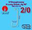 VMC-O-Shaugnessy-X-Long-Shank-Jig-90-Haken-9131-PS-Bleigussform-Jigkoepfe-giessen Indexbild 2