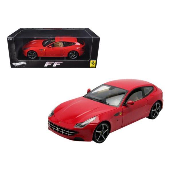 Ferrari 4 Seater: Hot Wheels Elite W1105 Ferrari FF V12 Four 4 Seater 1/18
