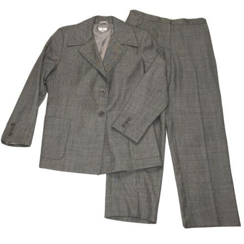 Zanella Women's 10 Two Button Blazer Pants Suit Wo
