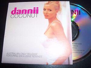 Dannii-Minogue-Coconut-Rare-Australian-Card-Sleeve-Remixes-CD-Single