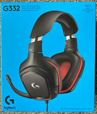 Logitech G332 BlackRed Gaming Headset for Xbox One