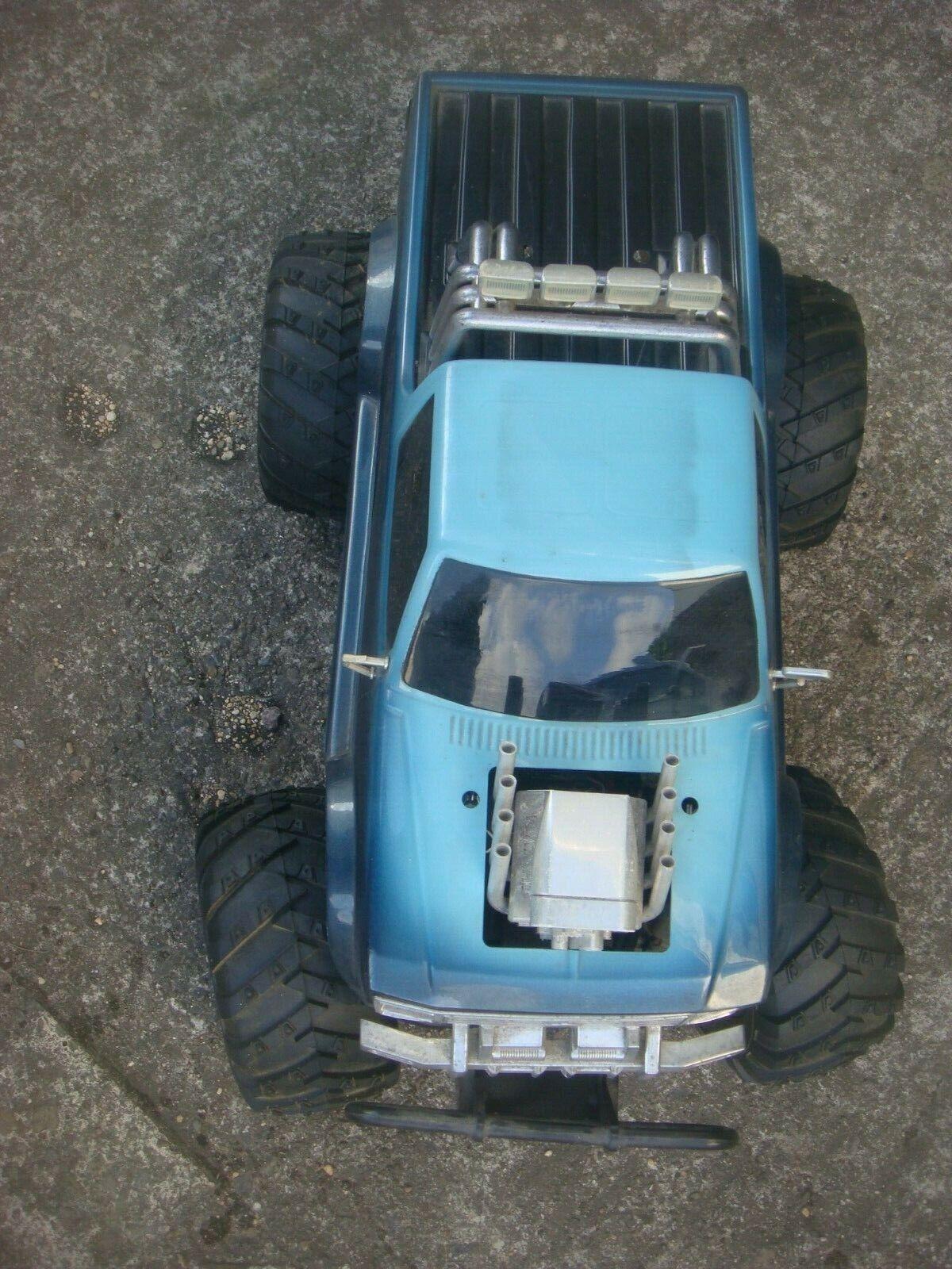 RARE RC AUTO RC KYOSHO Crusher gree  BOSS Camion con le istruzioni Decalcouomoie  vendite calde