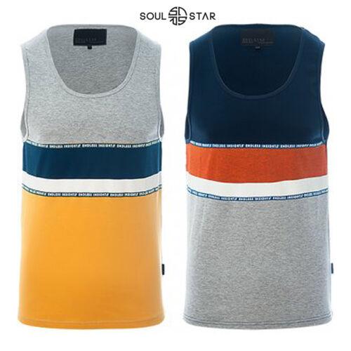 Soulstar Para Hombre Baño de Verano Gimnasio Correr Nightwear Activewear sin mangas chaleco Tops