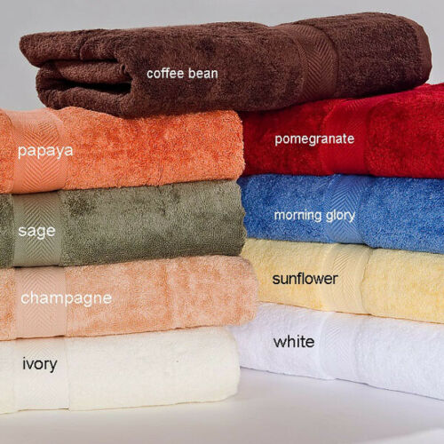 All American 100/% Pima Cotton Towel Sets By Homestead Textiles-50/%  OFF!