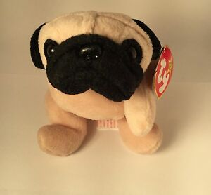 AUTHENTICATED by Becky s True Blue Beans Pugsly  4106 TY Beanie Baby ... bf416b29e5f
