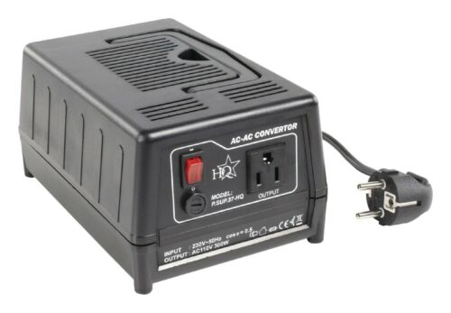US CONVERTISSEUR TRANSFORMATEUR DE TENSION 220V VERS 110V 300W FR