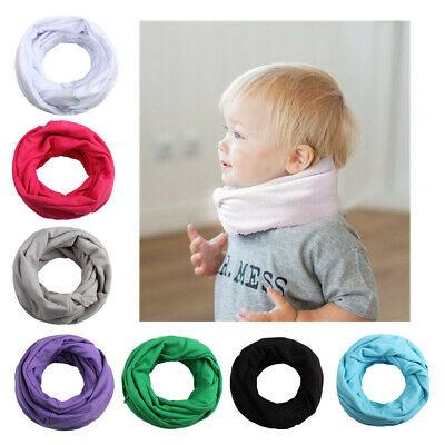 Baby Kid Autumn Winter Cotton Warmer Round Scarf Children O Ring Neck Scarves /'/'