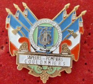BEAU-PIN-039-S-SAPEURS-POMPIERS-VILLE-COULOMMIERS