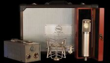 New Peluso 22 251 Vacuum Tube Microphone System Mic w/PSU, Case, Shockmount