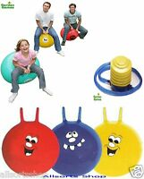 6 X Space Hopper Pack & Pump. 3 X Adult Hoppin Mad & 3 X Kids Childrens Hoppers