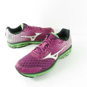 Womens Mizuno Wave Rider 18 Running Cross Training Shoes Size 10 J1GD150301