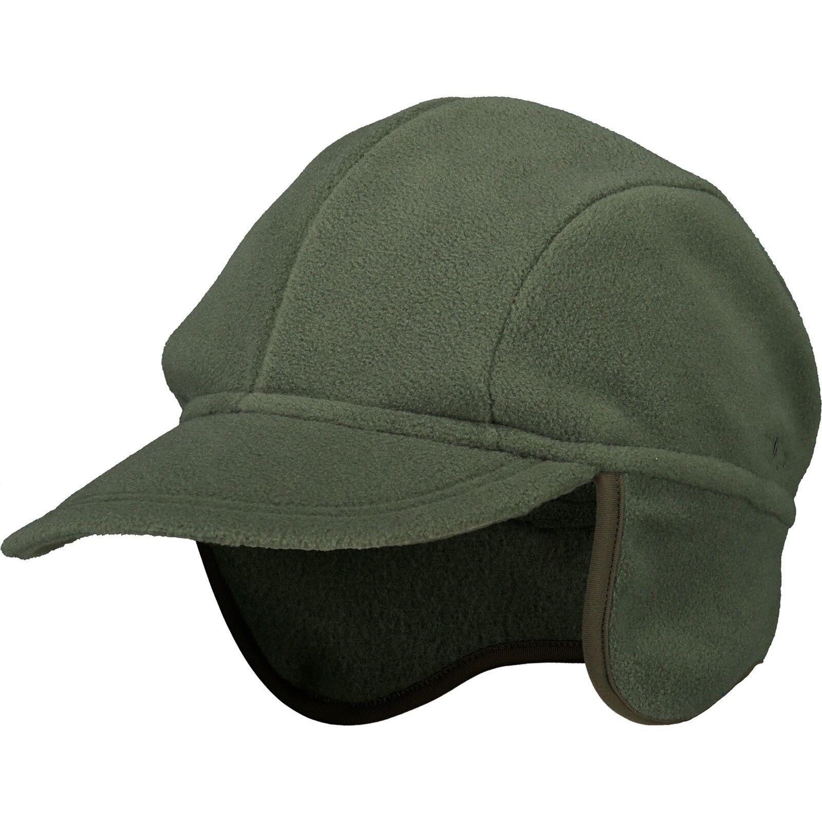 CMP Cap Mütze MAN FLEECE CAP dunkelgrün atmungsaktiv wärmend Dach