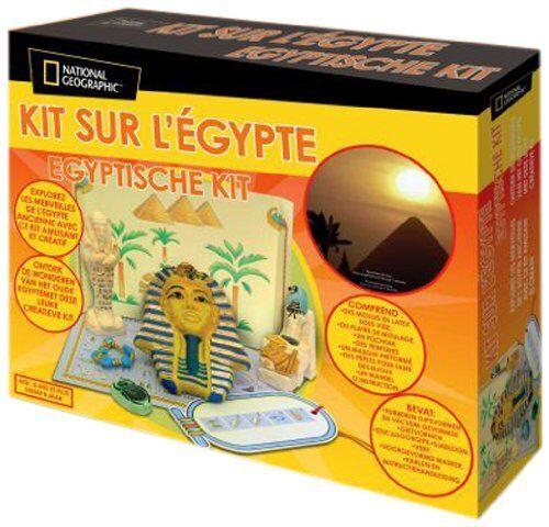 37//NG36 National Geographic Kit D/'Exploration De L/'Egypte Jeu Éducatif