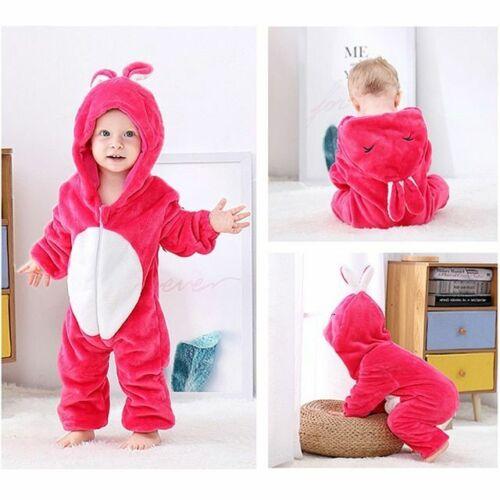 Stich Schlafanzüge Winter Babykleidung Panda Mädchen Jungen Strampler Overall