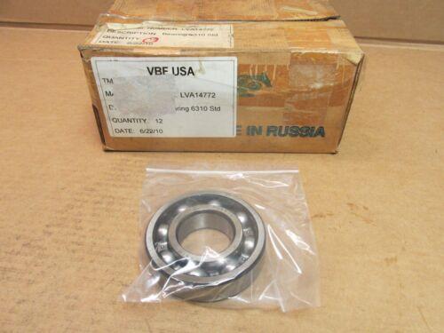 NEW VBF USA 6310 BEARING OPEN 6310-C3 50x110x27 mm