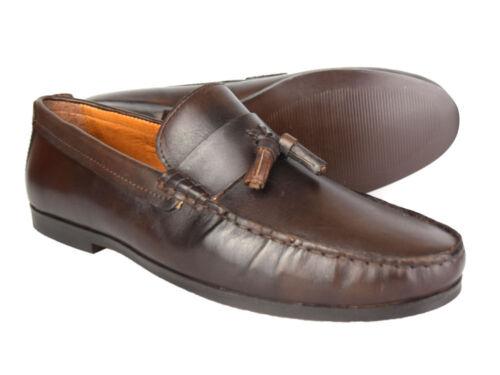 Chaussures Marron Free Rrp P Cuir 45 en Woodcroft Ruban Uk de p Mocassins Rouge conduite n1HXYWqa