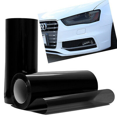 Auto Car Tint Headlight Taillight Fog Light Vinyl Smoke Film Sheet Sticker Cover