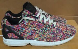 3fc41d12433c6 Adidas Torsion ZX Flux M19845 Men s Multicolor rainbow prism running ...